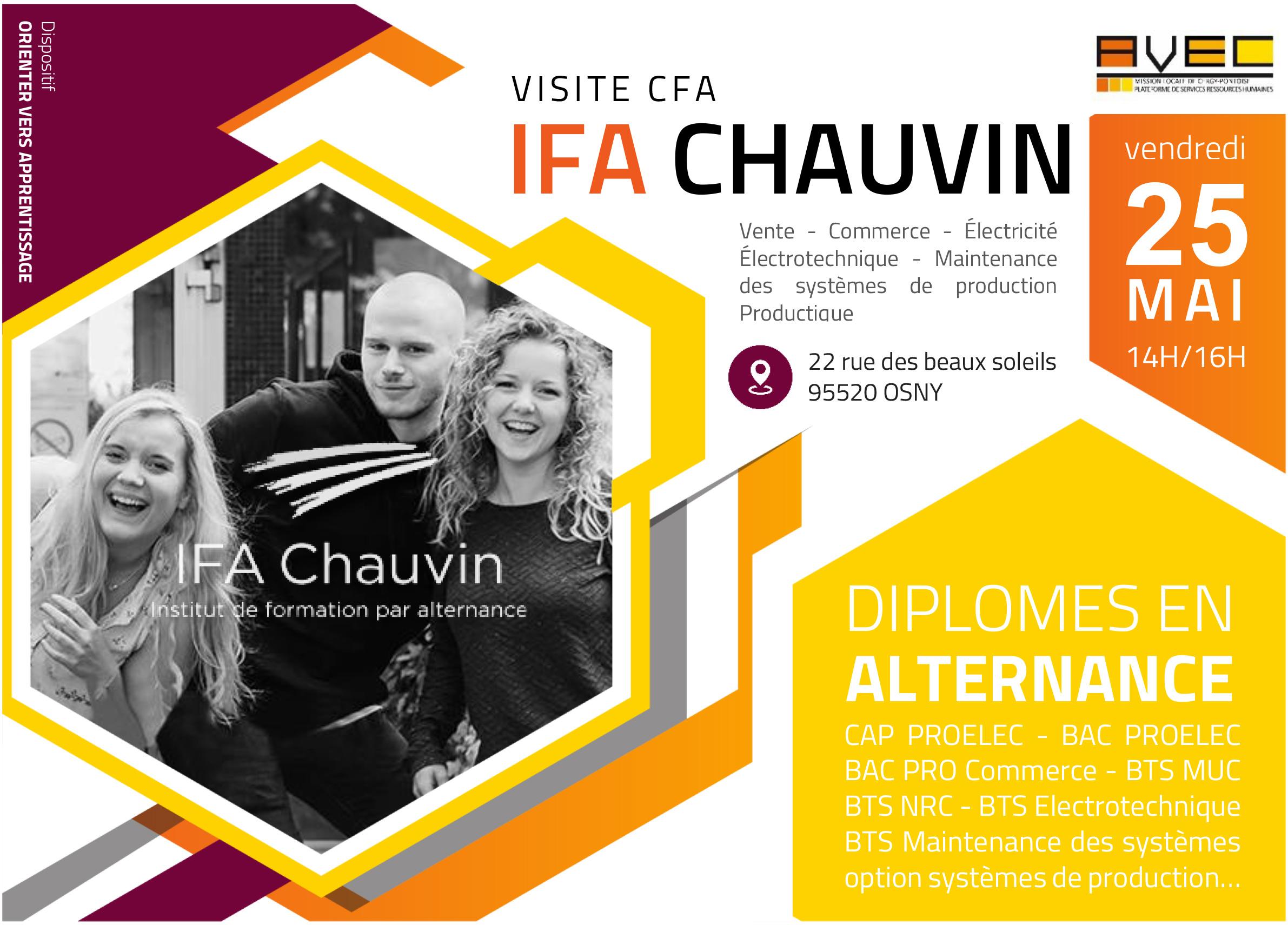 Flyer visite Ifa Chauvin
