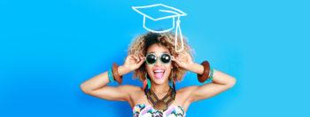 Image jeune diplômée